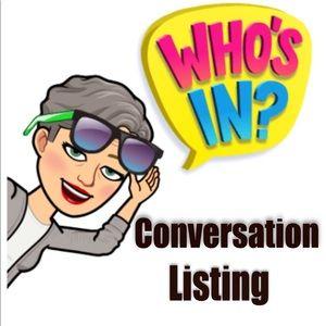 Tops - Conversation Listing
